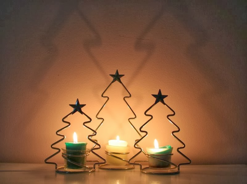 Frugal Christmas Tree Candle Lights