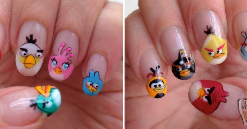Angry Bird Nails | Best Nail Designs 2018