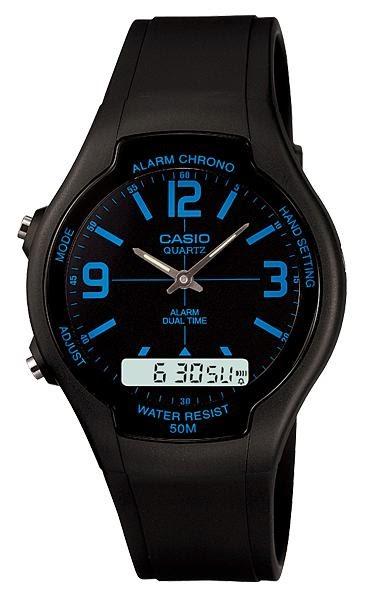 Jam Tangan Pria CASIO AW-90H-2BV