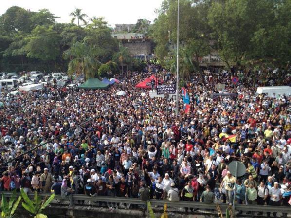 5000 gambar mahkamah Sekitar Perhimpunan 901 keputusan kes liwat Anwar Ibrahim 9