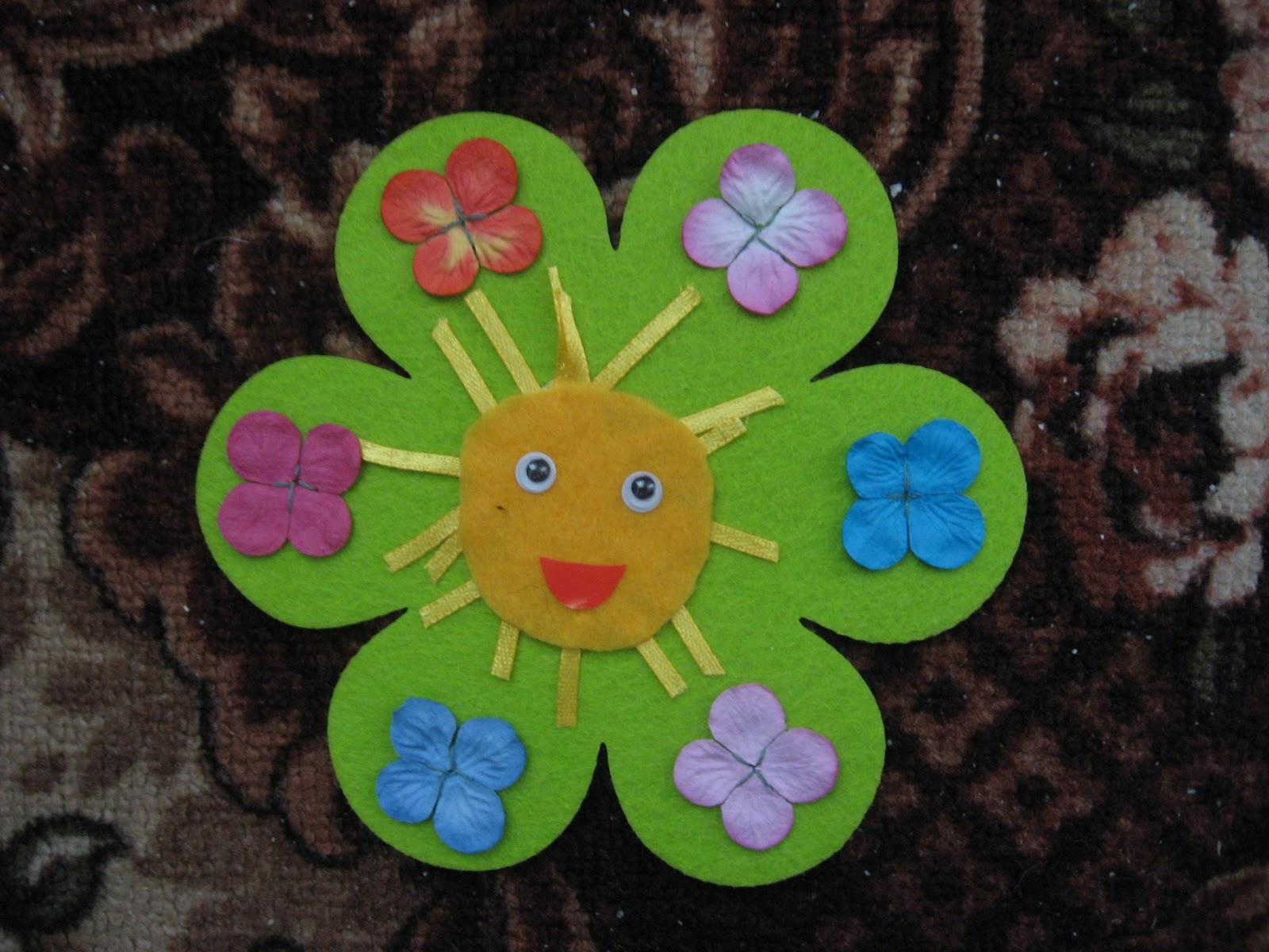 Солнышко в детском саду своими руками фото