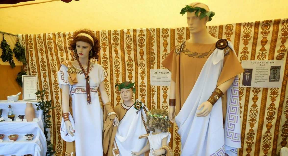 Ciudadanos romanos con toga