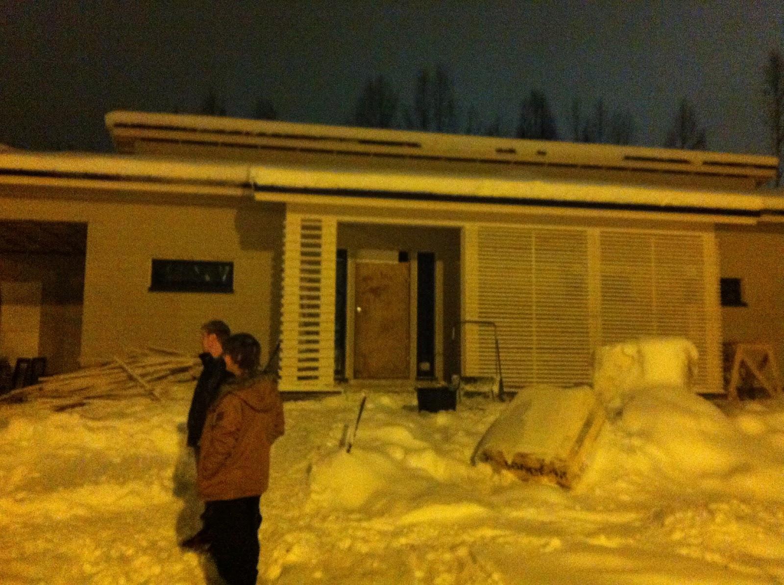 Projekti Harmaja Rovaniemi Keittiö ja kodinhoitohuonetilauksia