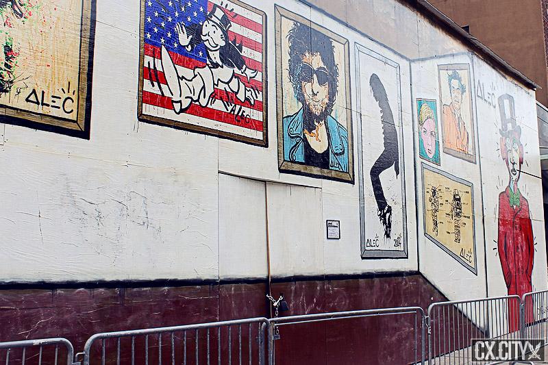 graffiti - mural artist alec - murals art