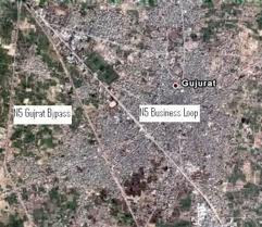 Google Earth Map of Pakistan Gujrat Latest Pgotos 2012