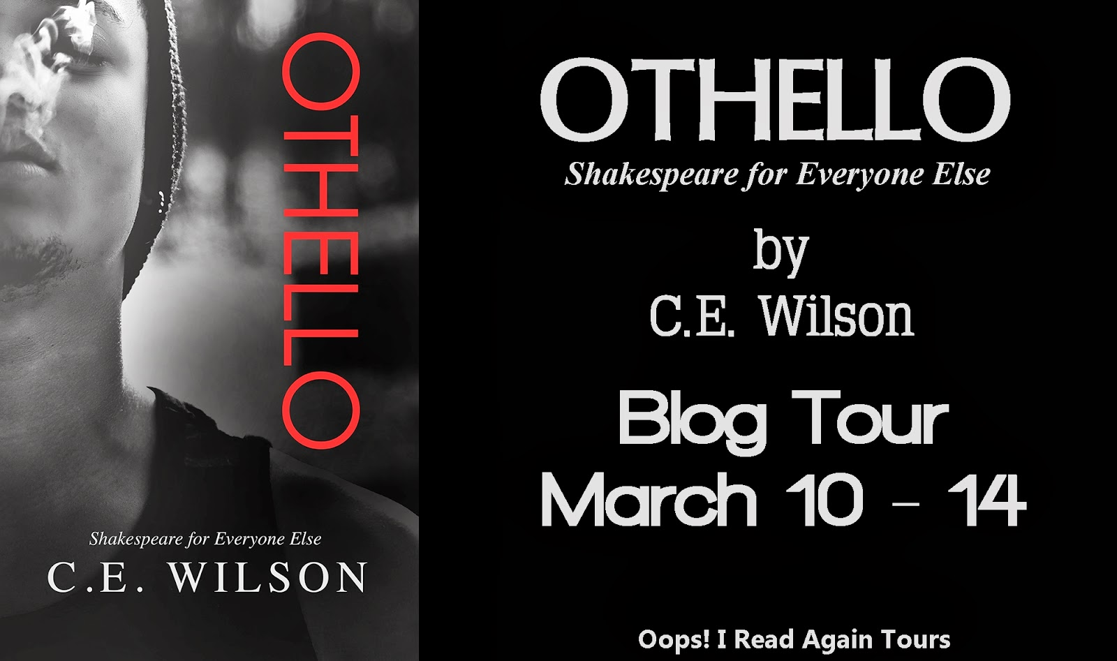 http://oopsireadabookagain.blogspot.co.uk/2014/02/blog-tour-invite-othello-by-ce-wilson.html
