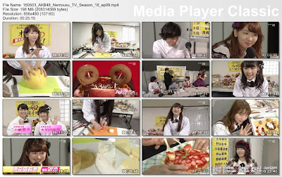 AKB48 Nemousu TV Season 18 Episode 9