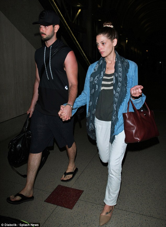 Ashley Greene Parker Smith at LAX