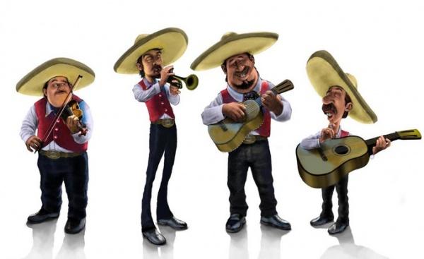 Gif animados de mariachis - Imagui