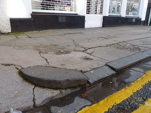Brook Street Pavements