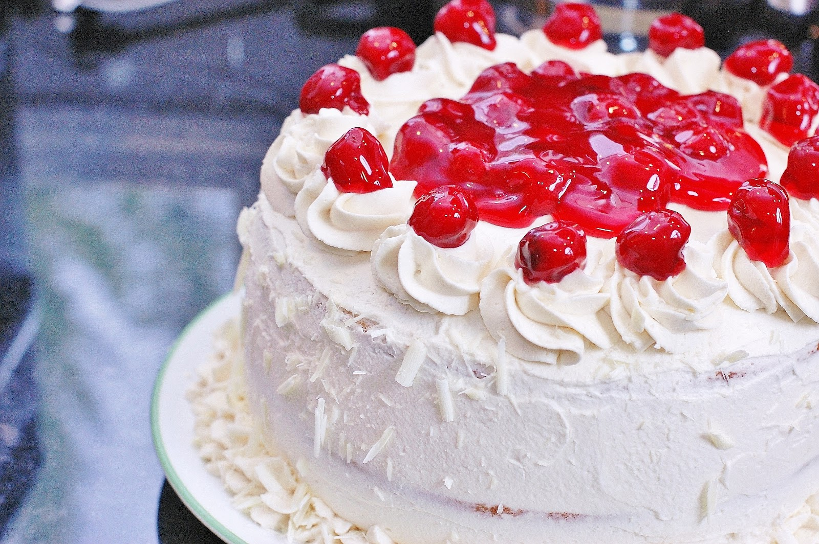Recipe For A White Forest Cake