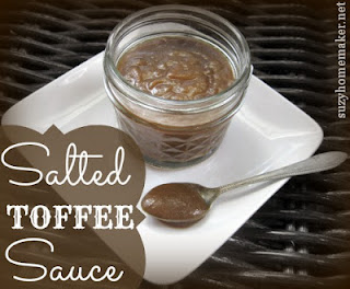 salted toffee sauce