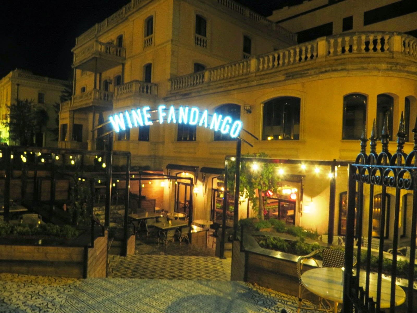 Urbina vinos blog restaurante wine fandango en logro o for Hotel bodega logrono