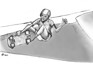 Desenhos Para Colorir Meninos Skatista