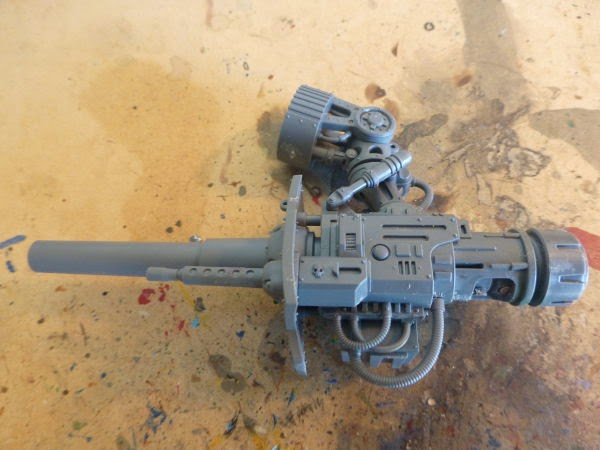 WIP Imperial Knight - stubber and ammo hppper