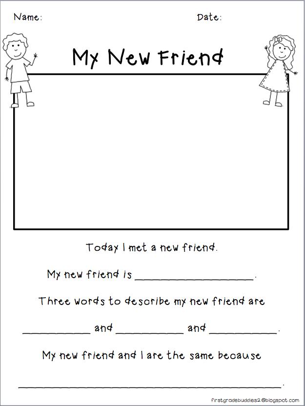 First Grade Buddies Mentor Text Linky 63013