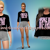Female Top || (I woke up like this) || Female Clothes || The Sims 4