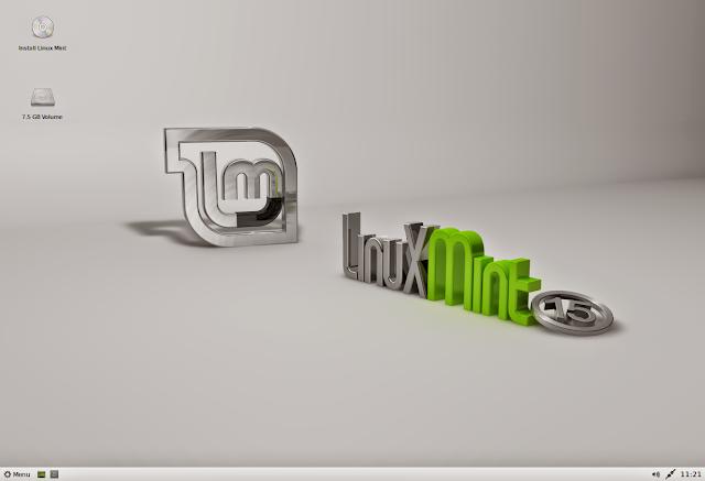 Linux Mint 15 com XFCE
