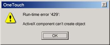 Computer Error Fixer: Fix Runtime Error 429 Activex Component Can\u0027t