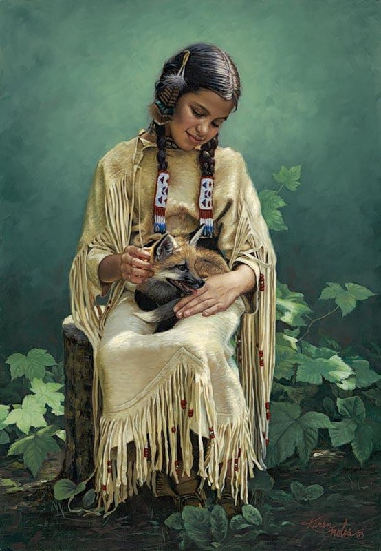 karen noles 1947 native american paintings tutt 39 art