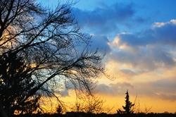 Der Himmel über uns...