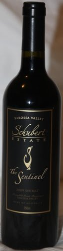 Schubert Estate The Sentinel Barossa Valley Shiraz 2009