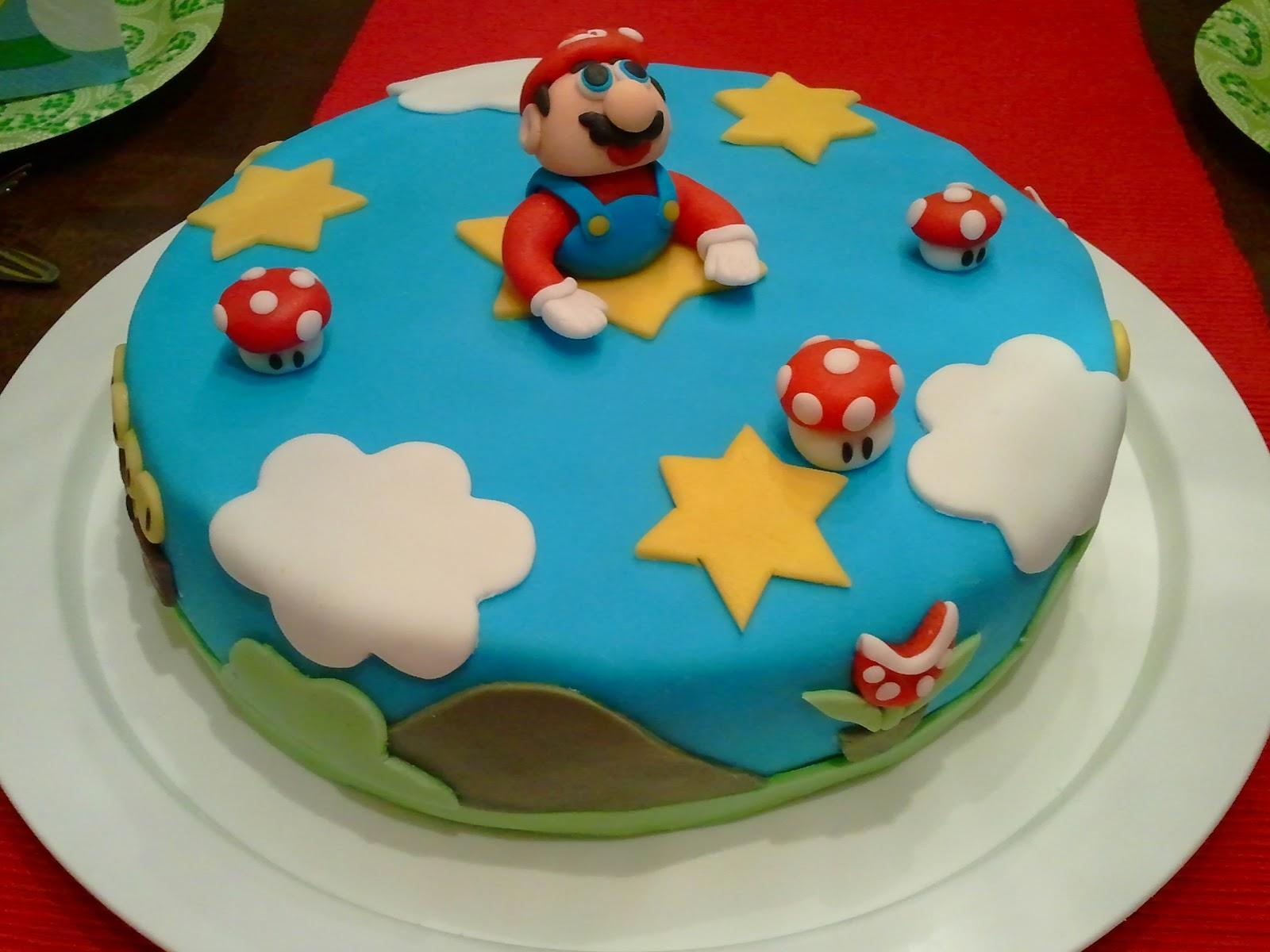 Riittalicious Super Cool Super Mario Cake And Winter Wonderland