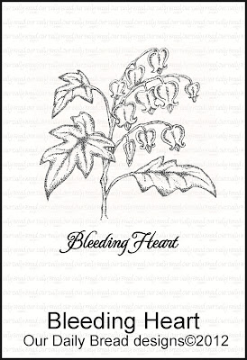 Our Daily Bread designs Bleeding Heart Set