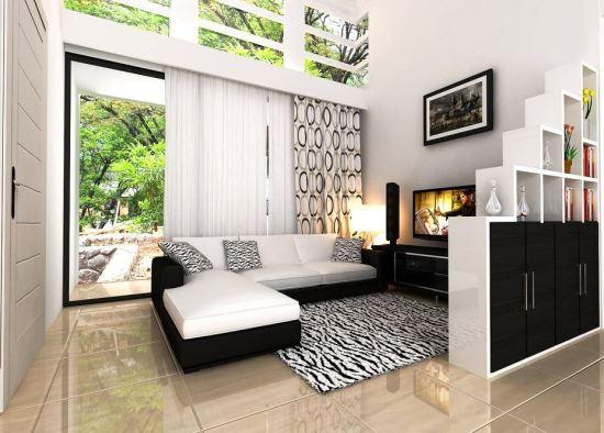 gambar ruang keluarga dengan konsep minimalis terbaru