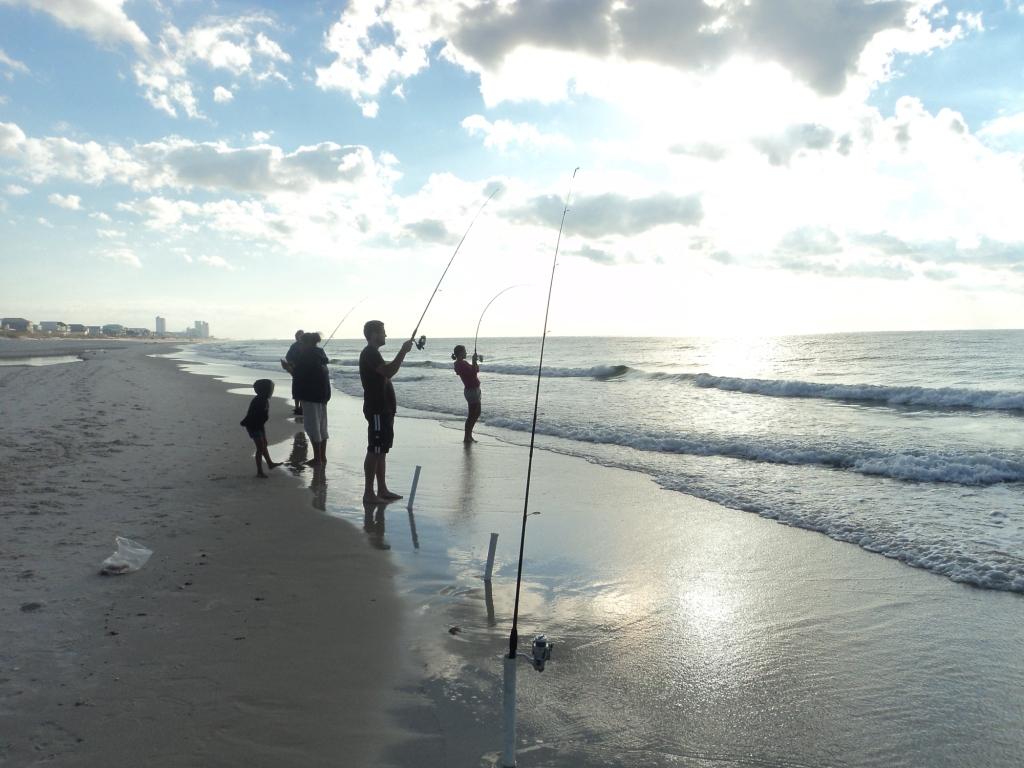 Heartland outdoors lake doctor gulf shores for Surf fishing gulf shores