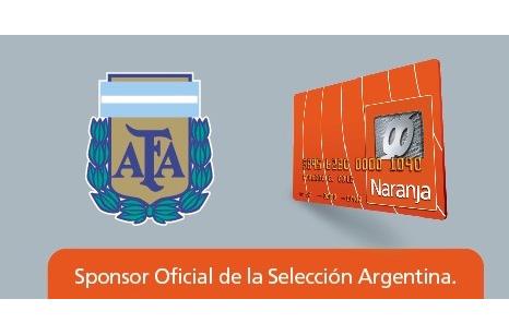 Tarjeta Naranja, sponsor de la Selección Argentina de fútbol hasta 2019