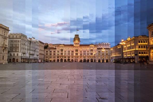 Richard Silver fotografia cidades paisagens arquitetura fatias de tempo time sliced