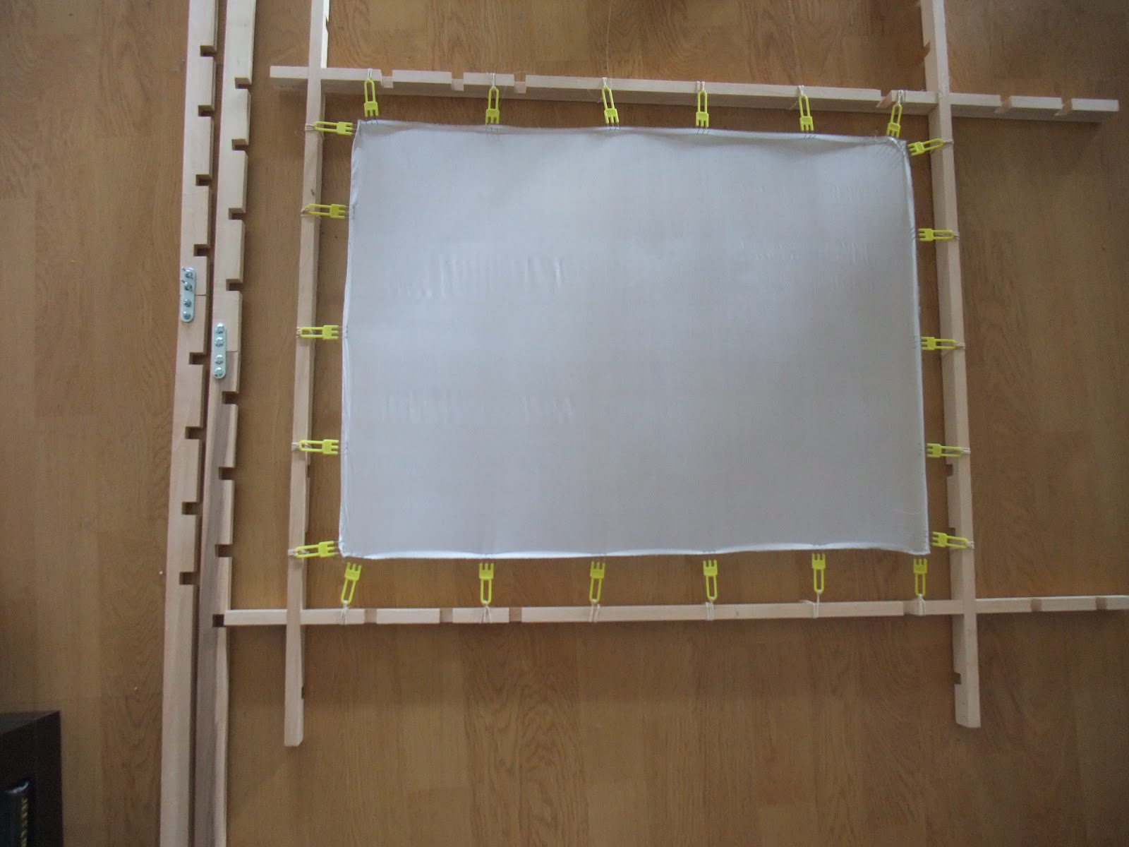 How To Make A Stretcher Frame For Silk Painting