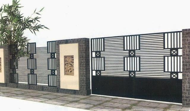 Desain Pagar Besi untuk Rumah Mewah