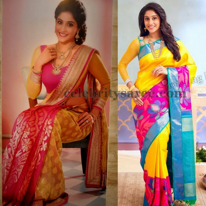 Regina Latest Wedding Silk Sarees