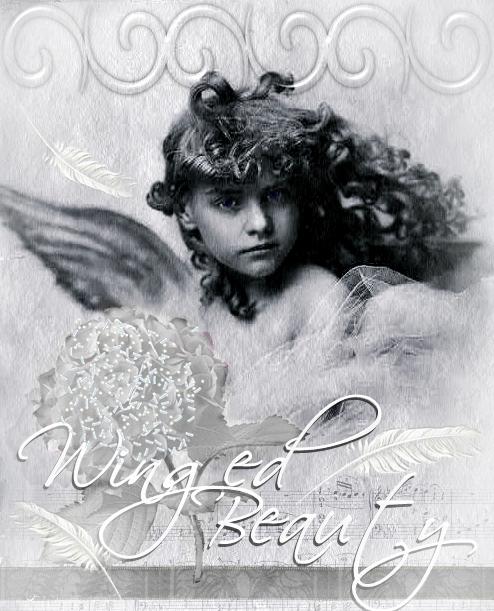 Winged Beauty Digital Art