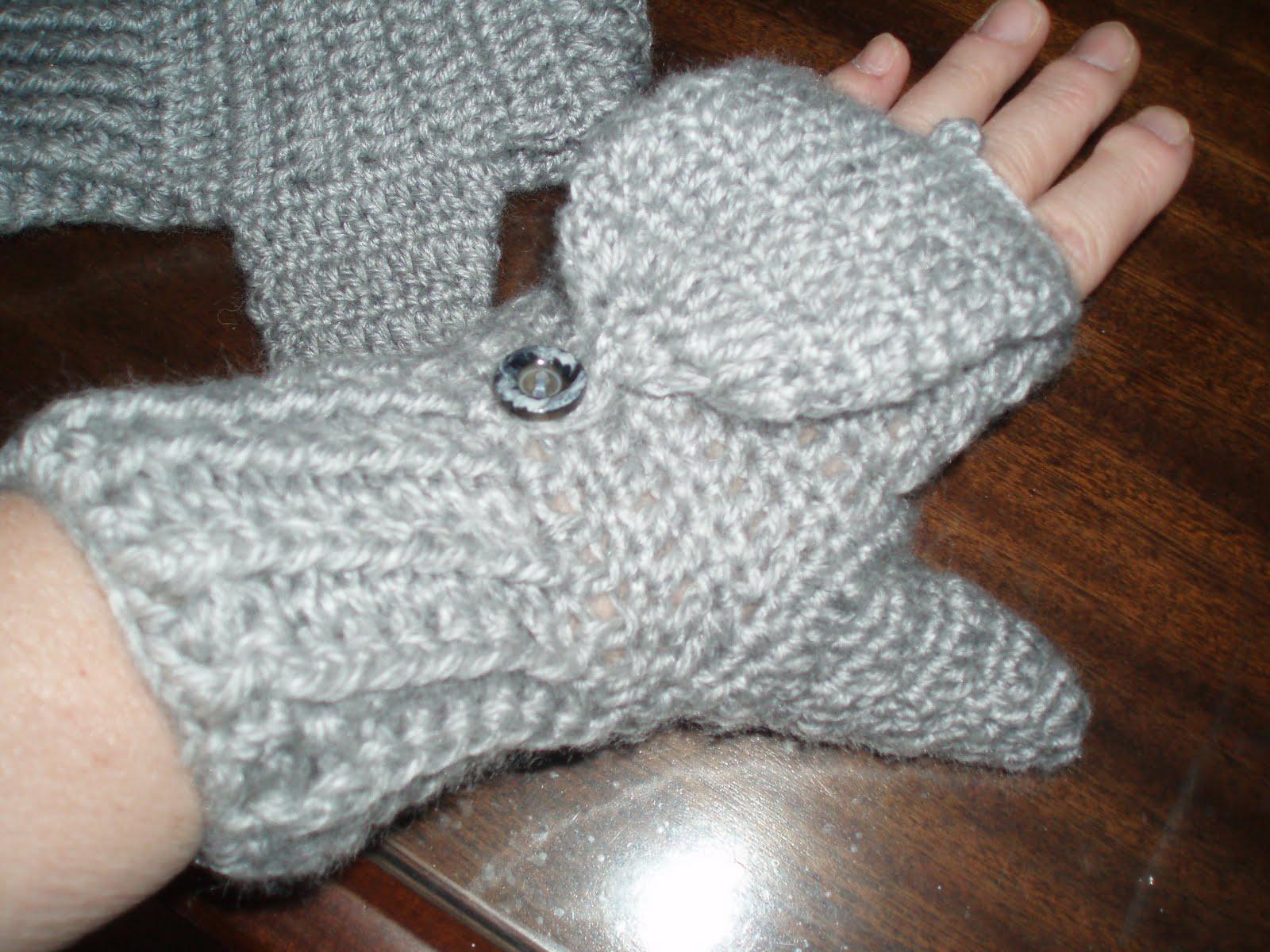 La Casita de Anama: guantes al crochet