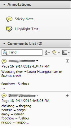 how to delete a comment in adobe reader