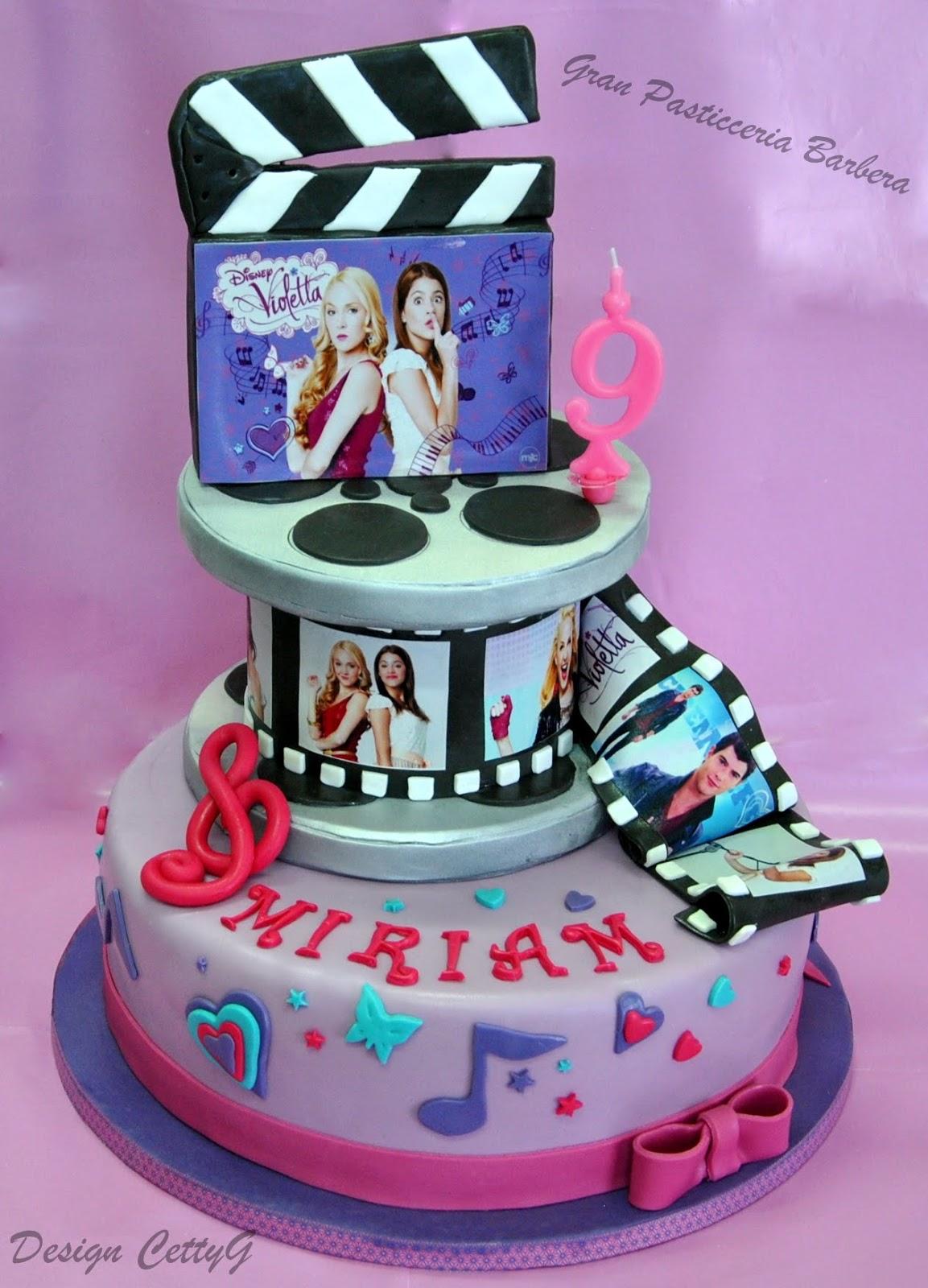 Cake Design Di Violetta : Le torte decorate di Cetty G: Violetta cake!