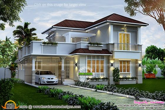 Nice villa exterior