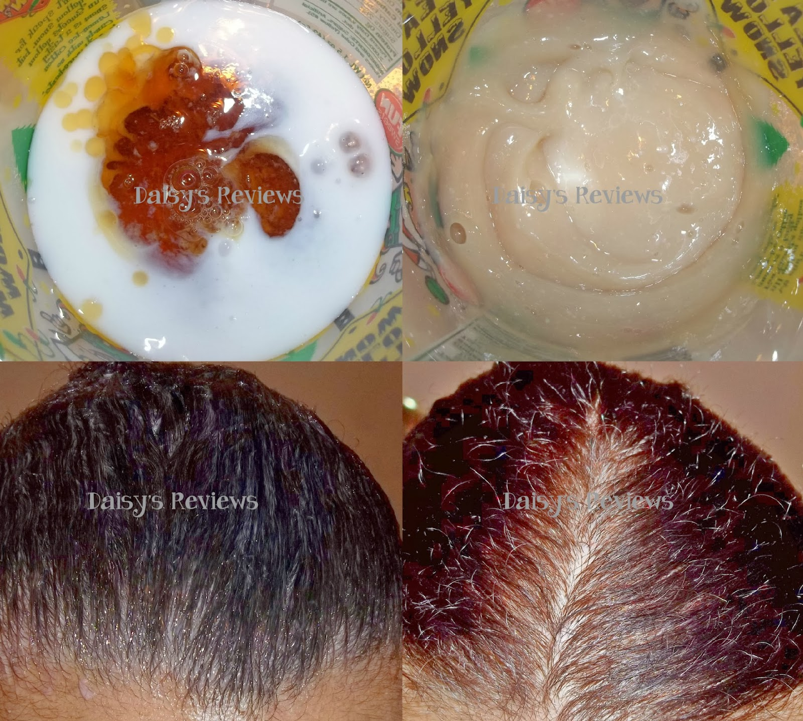 Light Red Brown Hair Color Chart 2nd picture- mix haircolor and