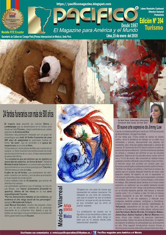Revista Pacifico N° 394 Turismo