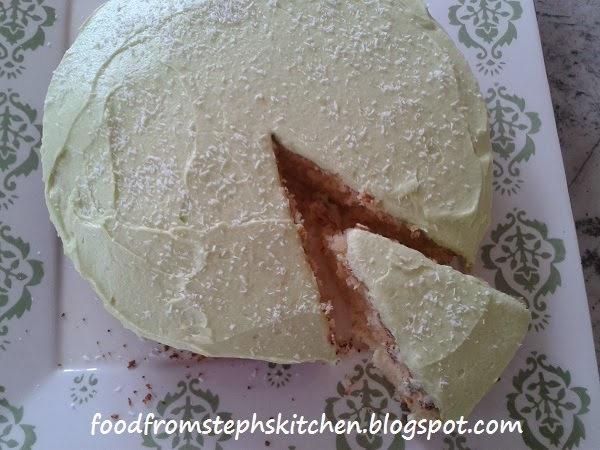 Lime and coconut cake - Steph's Kitchen