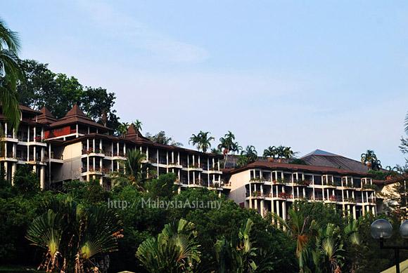 Damai Beach Resort in Santubong Sarawak