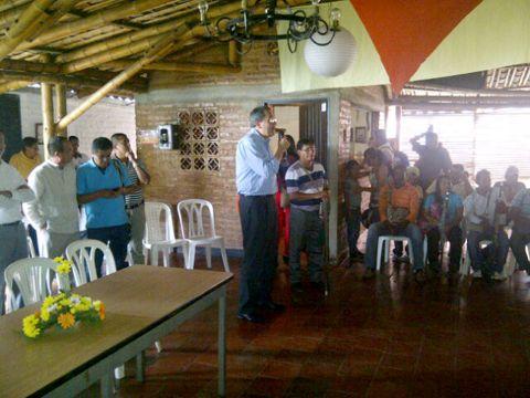 Ministro del interior estuvo hoy de visita en santander de for Declaraciones del ministro del interior hoy