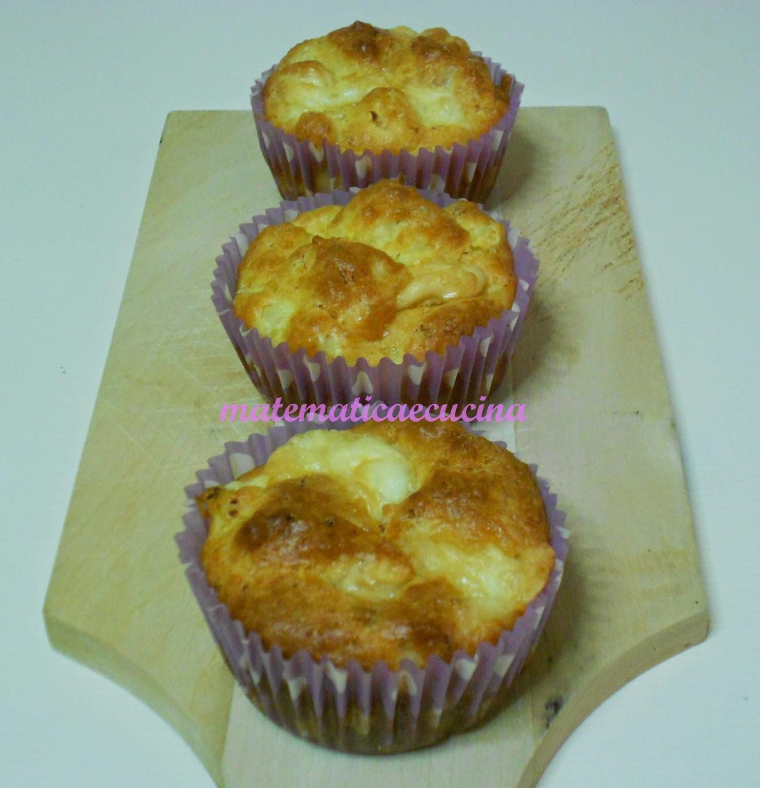 muffins salati con cavolfiore e provola insaporiti al curry