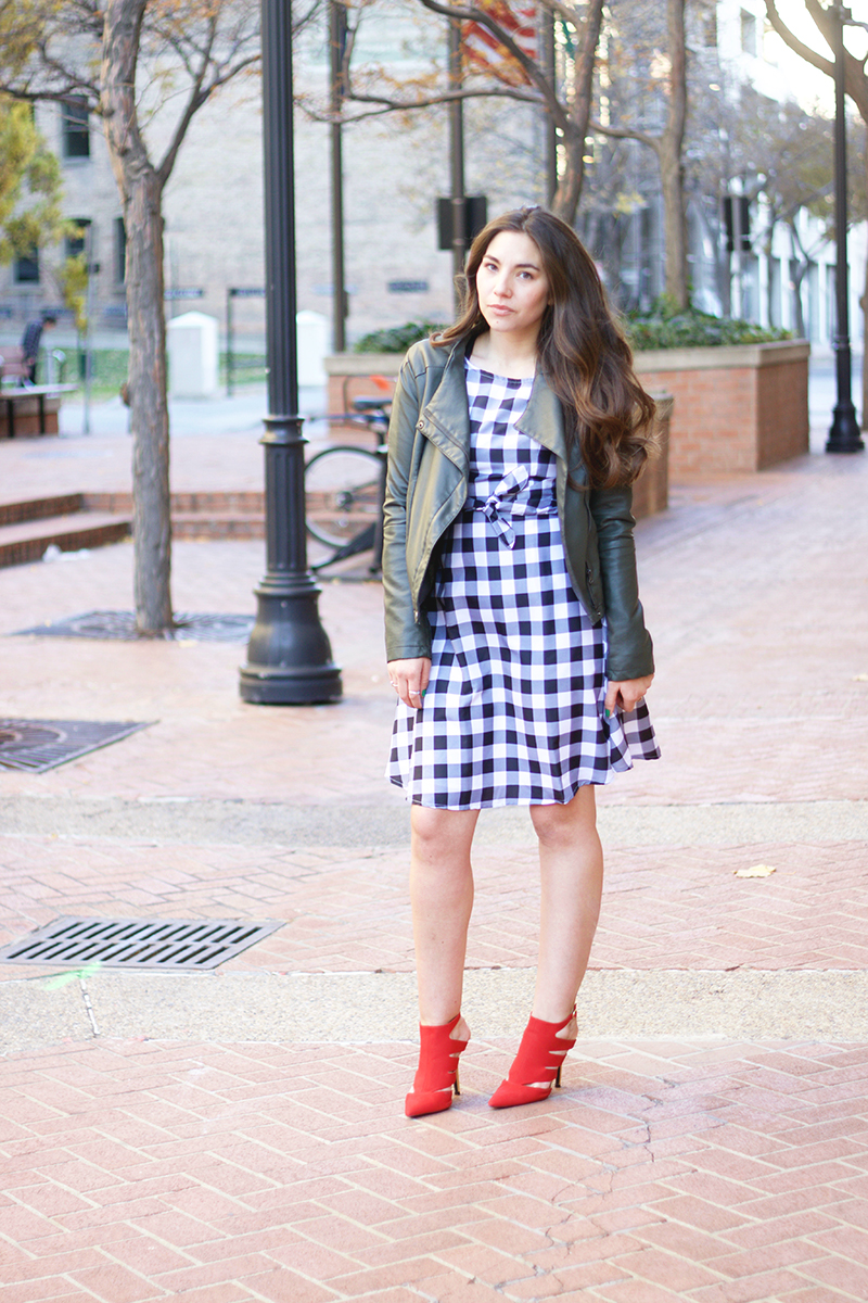 plaid dress from shabby apple