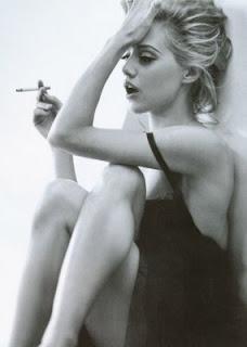 brittany murphy smoking
