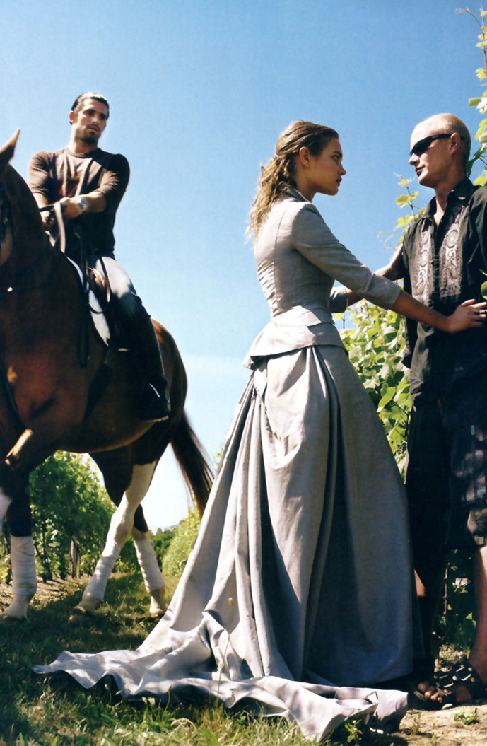 Natalia Vodianova in A Grand Affair | Vogue US September 2005 (photography: Steven Klein, styling: Grace Coddington)