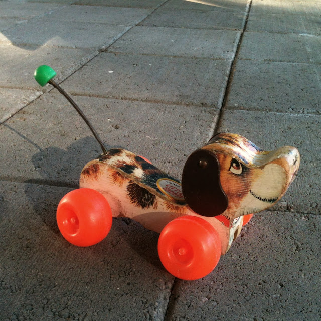 Fisher Price Dog Riding Toy